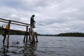 На рыбалку без дождя