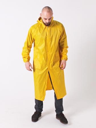 Дождевик тканевый жёлтый_3