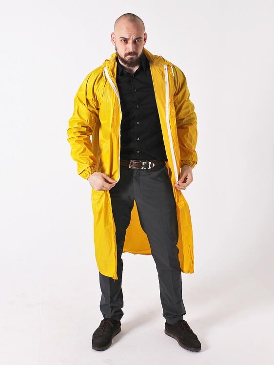 Дождевик тканевый жёлтый