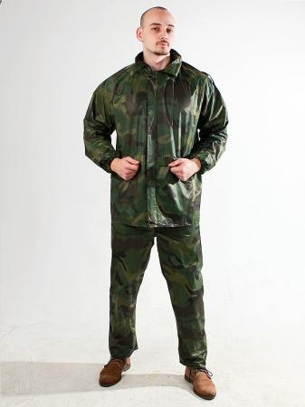 Дождевик камуфляжный костюм