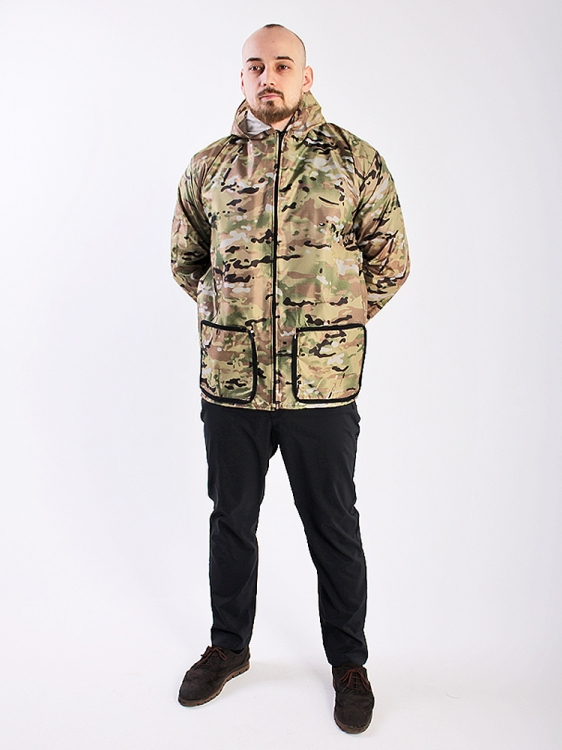 Дождевик куртка универсальная с карманами мультикам
