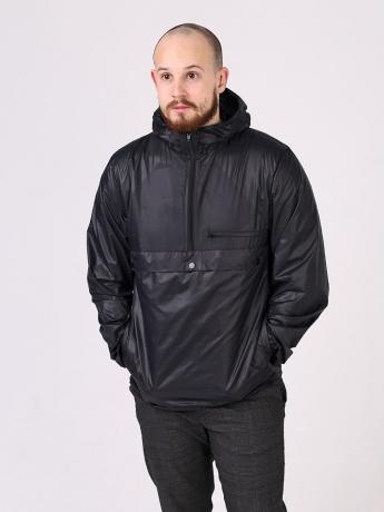 Куртка анорак с капюшоном и карманом кенгуру_3
