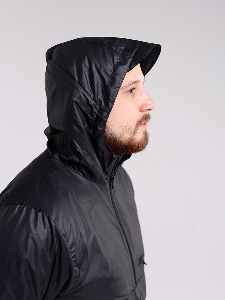 Куртка анорак с капюшоном и карманом кенгуру