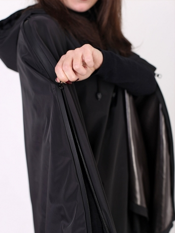 Дождевик пончо BLACKBIRD с капюшоном водонепроницаемый_6