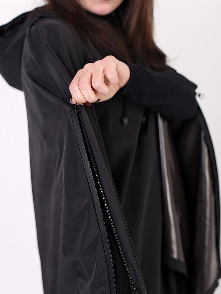 Дождевик пончо BLACKBIRD с капюшоном водонепроницаемый