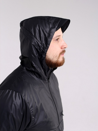 Куртка анорак с капюшоном и карманом кенгуру_7