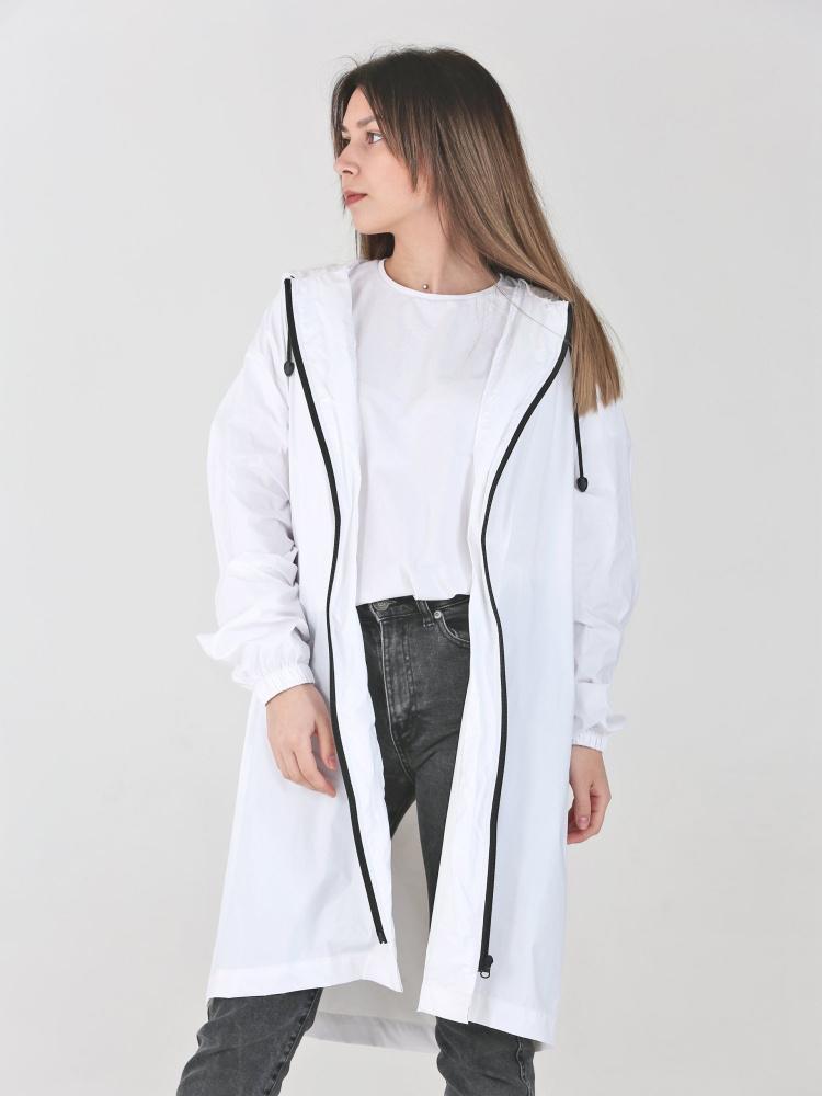 Дождевик Ultra White непромокаемый стильный на молнии